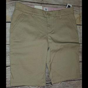 Bermuda uniform shorts.